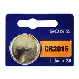SONY CR2016 鈕扣型電池 5顆