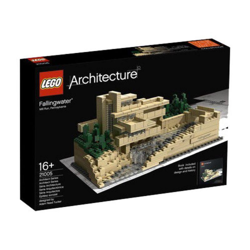 LEGO 21005 設計師親筆簽名 Architecture 建築系列 落水山莊