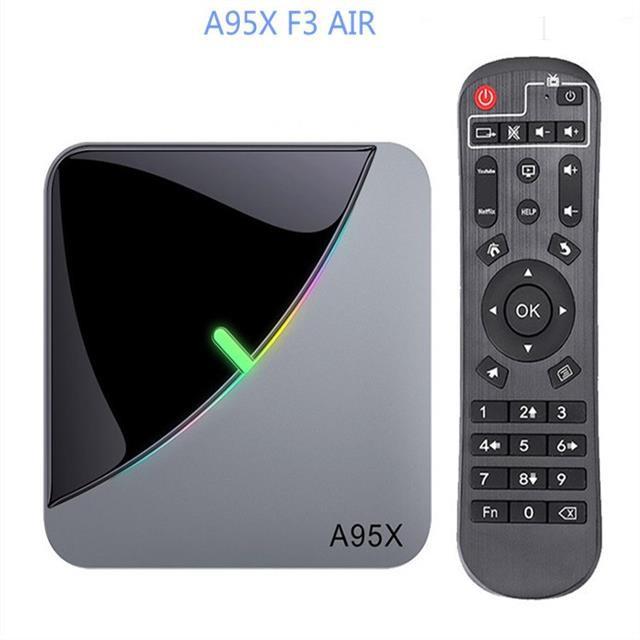 【速發--免運】A95X F3 AIR 機頂盒 S905X3 4GB+64GB 網絡電視盒TV BOX 安卓9.0
