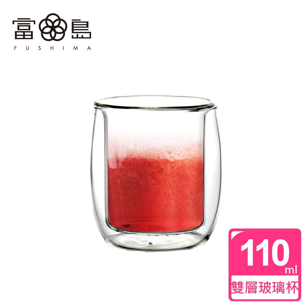 【FUSHIMA 富島】英倫系列雙層耐熱玻璃杯110ML