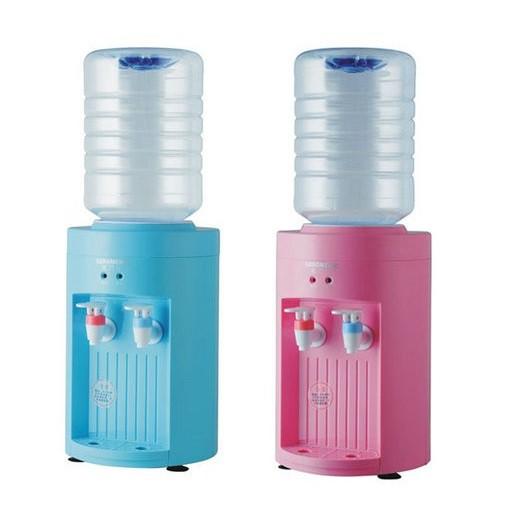 【現貨免運】飲水機110V台式冷熱飲水機迷你型小型可加熱飲水機送桶家用礦泉水/可開票