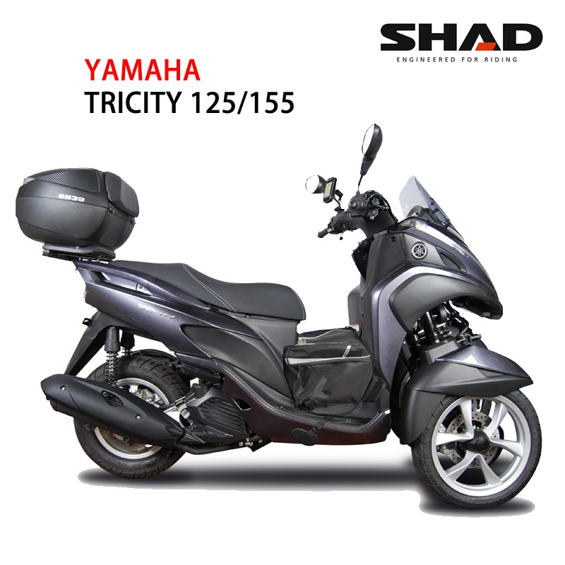西班牙SHAD專用後架 YAMAHA TRICITY155  可加購置物箱 總代理 摩斯達有限公司