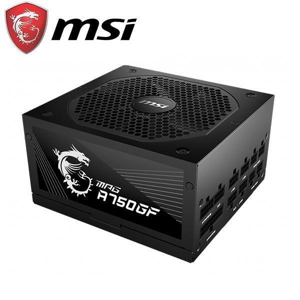 msi微星 A650/750/850GF (650/750/850W)金牌/全模組/全日系
