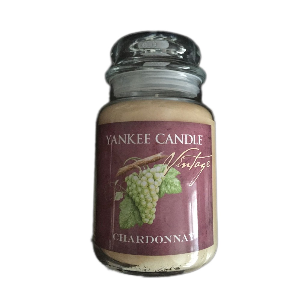 Yankee Candle XYCE009T chardonnay 蠟燭 22oz