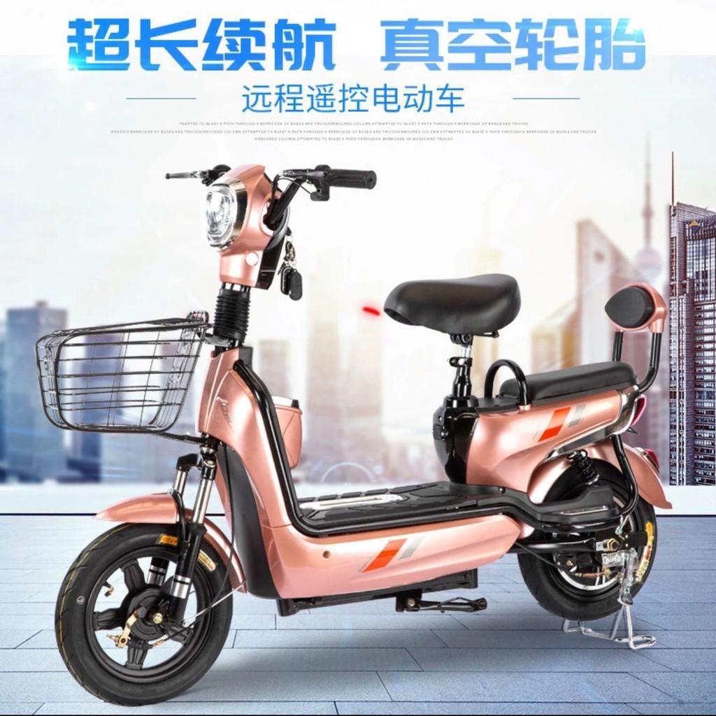 【📣便宜又大碗】廠家直銷新款電動自行車成人電瓶車男女雙人代步鋰電池外賣電動車【3月25日發完】