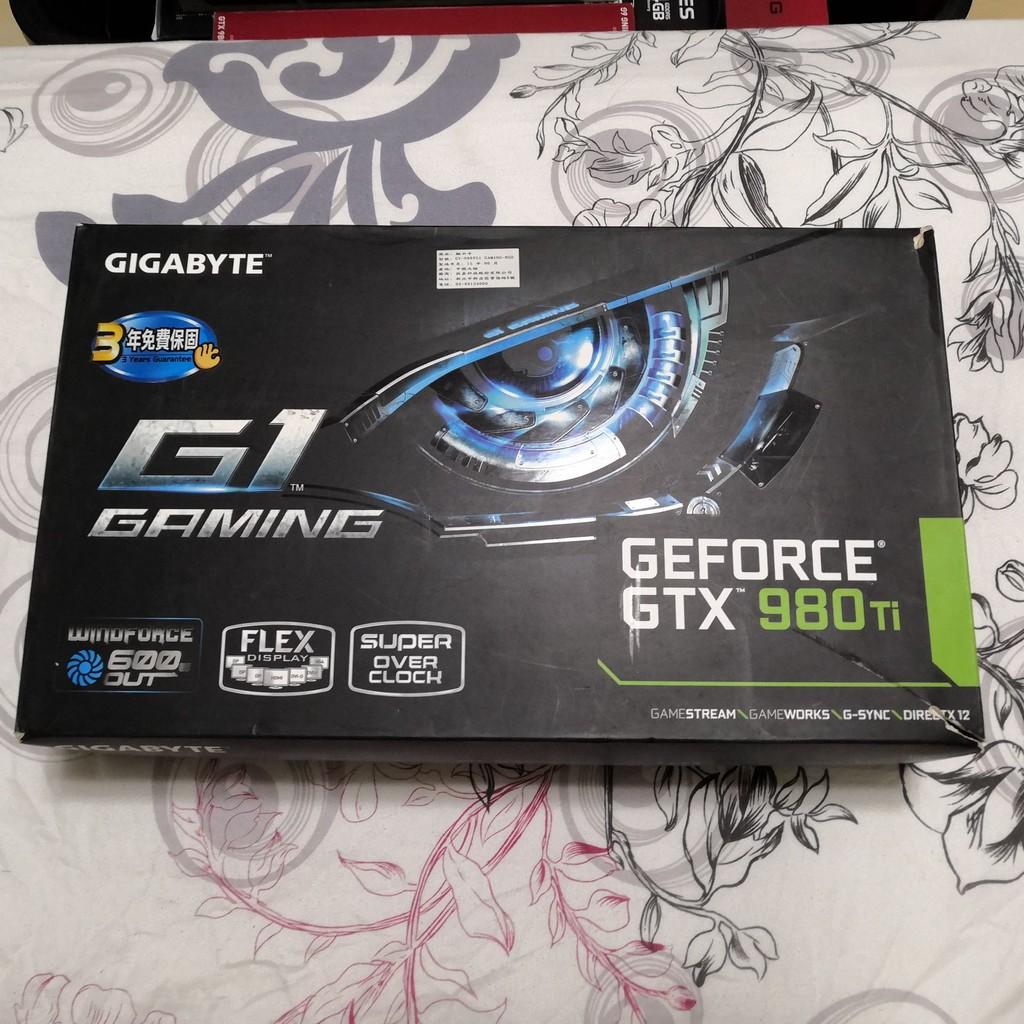 技嘉 頂級 GV-N98TG1 GAMING-6GD 980TI 6G