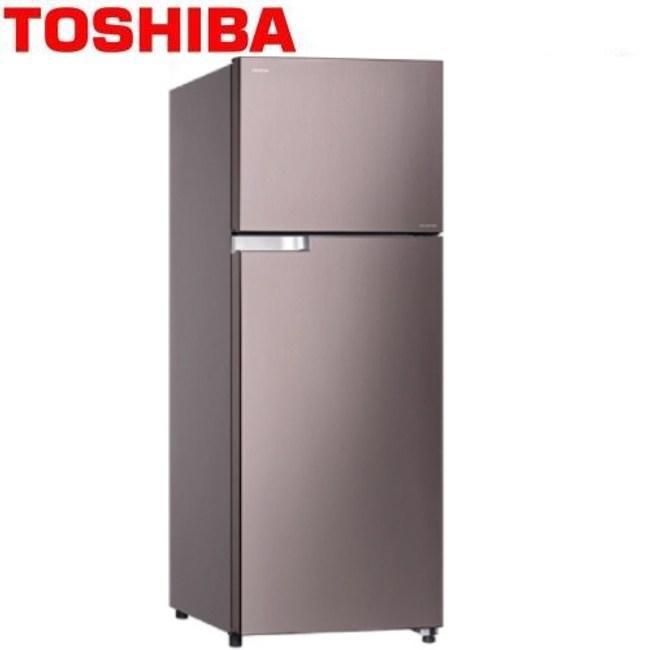 賣家免運【TOSHIBA 東芝】GR-A55TBZ(N)典雅金 510L 變頻1級省電雙門冰箱