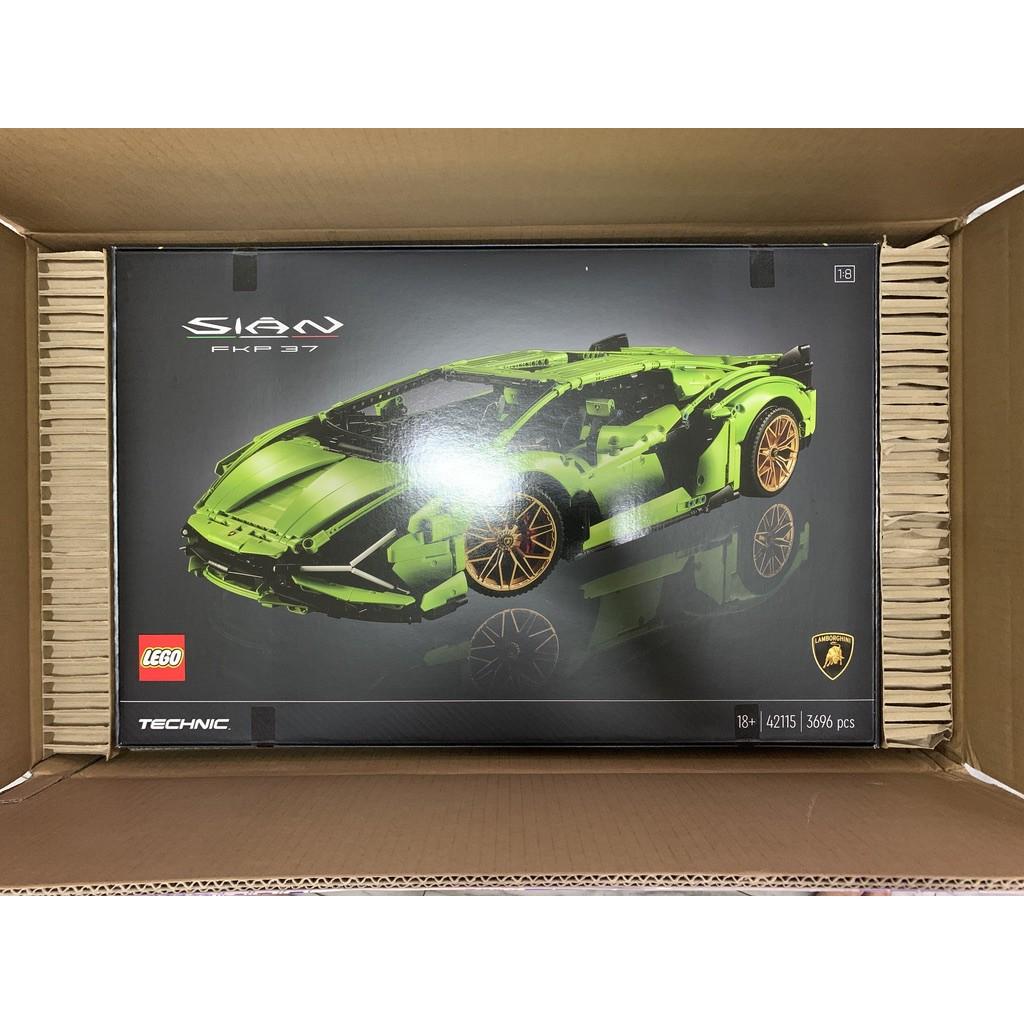 樂高 LEGO 42115 Lamborghini Sián FKP 37 藍寶堅尼