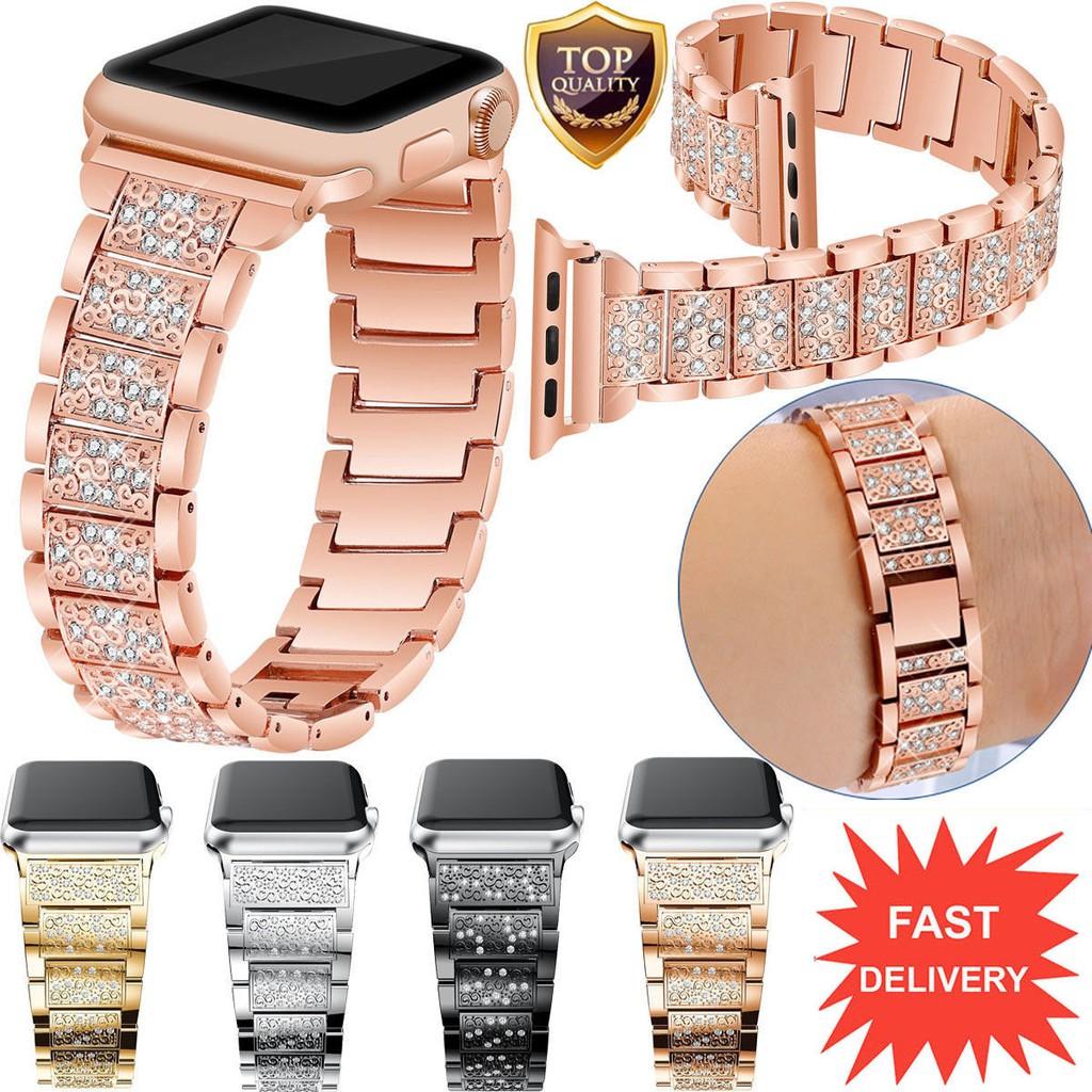 適用於Apple Watch Series 3 2 1不銹鋼手鍊iWatch錶帶38 / 42MM手環
