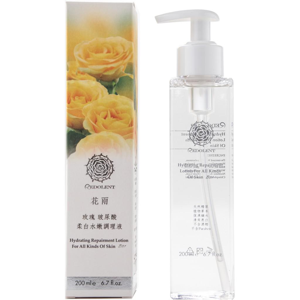 Redolent 花雨 ( B01 ) 玫瑰玻尿酸柔白水嫩調理液 (化妝水) 200ML