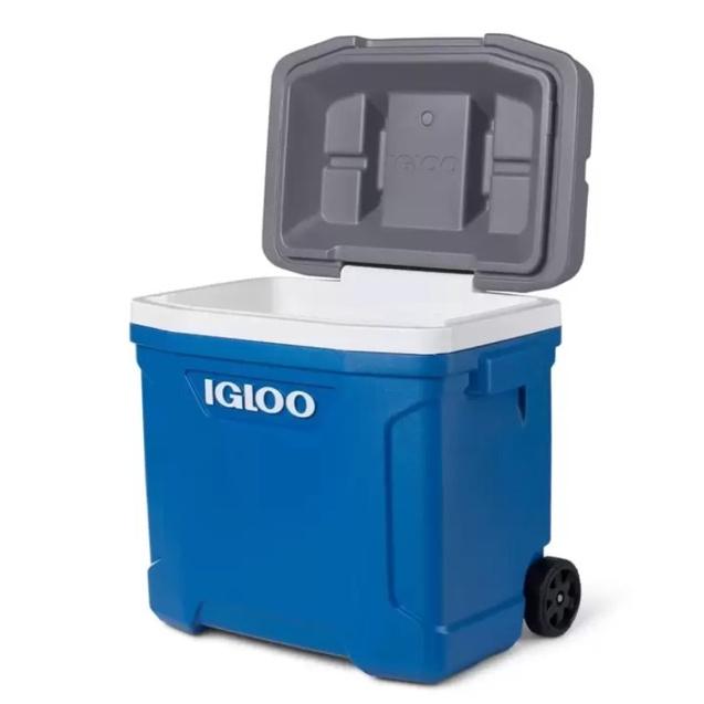 (宅配免運)Igloo 美國製28升滾輪式冰桶 好市多冰桶 露營用品 冰袋 冰塊 保冰箱 保冰袋 保冰桶 保溫桶 野炊