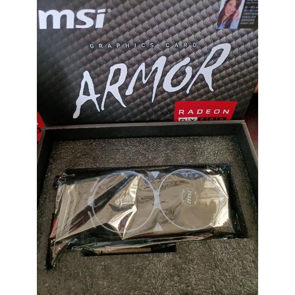 MSI Rx570 4G 紅龍gaming 鎧甲虎