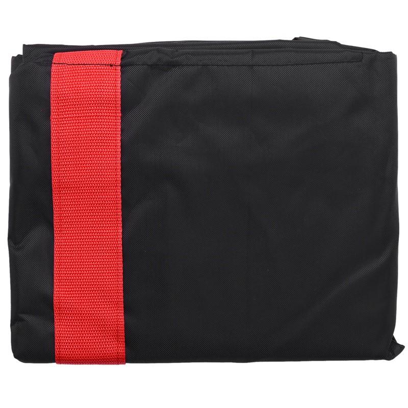 適用於小米M365背包袋收納袋和腳蹬踏板摩托車電動滑板車袋的攜帶包-紅色+黑色