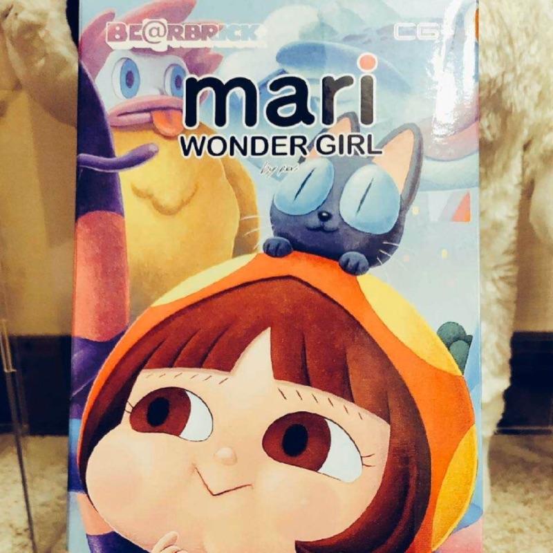 [吃喝玩樂 ]Bearbrick Be@rbrick Mair 泰國限定小紅帽400%
