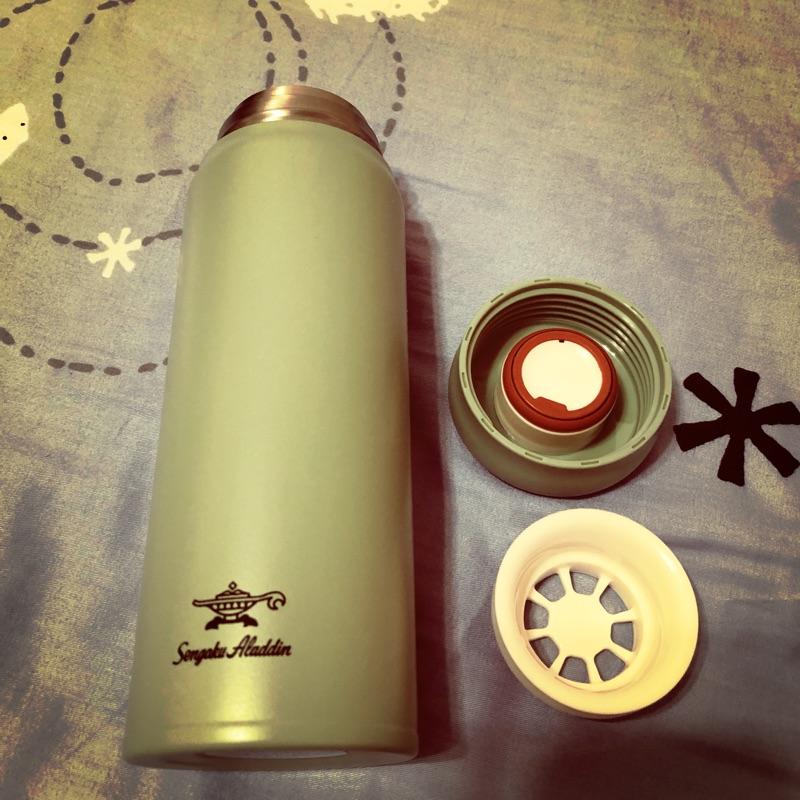 Sengoku Aladdin 千石阿拉丁 「雙層不鏽鋼保溫瓶」480ml