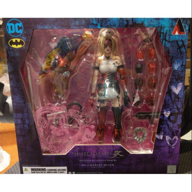 日版 正版 DC Comics VARIANT PLAY ARTS改 野村哲也 變體版小丑女 哈莉·奎茵