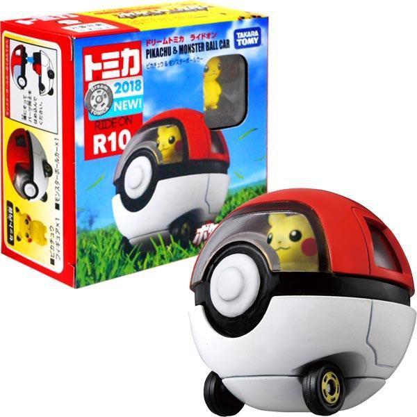 《玩具百寶箱》 TOMICA ~騎乘系列 R10 皮卡丘寶貝球車
