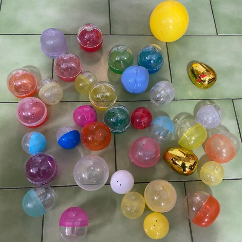 各式空的扭蛋球 扭蛋球  合售40