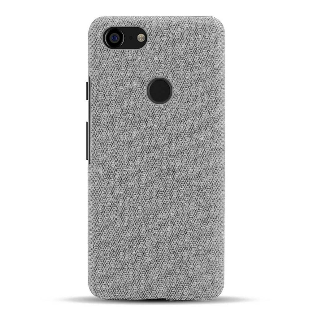 三色殼♣適用于谷歌pixel3手機殼布紋Google pixel3XL保護套官方同款簡約