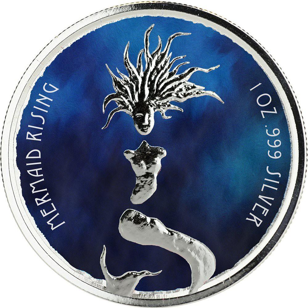 預購 - 2018斐濟-美人魚-1盎司銀幣