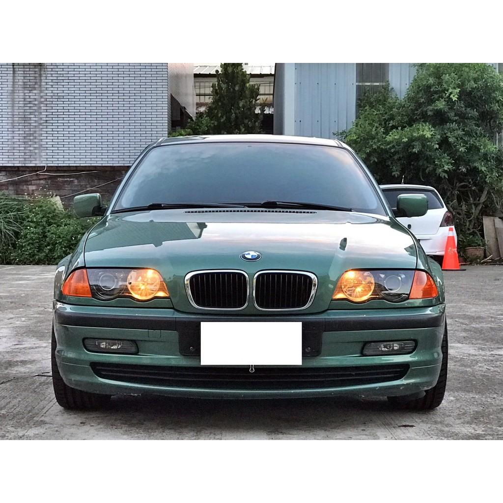 BMW 寶馬 E46 318I 經典墨綠 1998年出廠