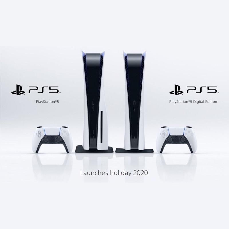 PlayStation5 光碟版主機+4片PS4遊戲
