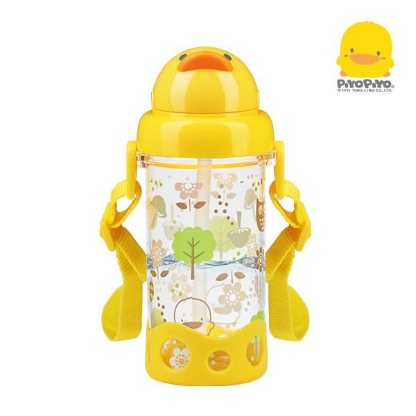黃色小鴨 Tritan滑蓋吸管水壺400ml