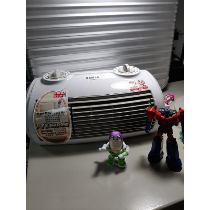 聲寶SAMPO陶瓷電暖器(HX-FG12P) 白色-全新商品-補貨中,完售