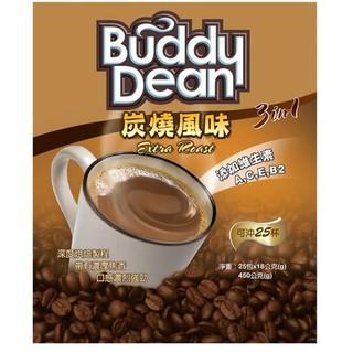 Buddy Dean巴迪三合一咖啡-炭燒風味(18gX25入) 屏東縣
