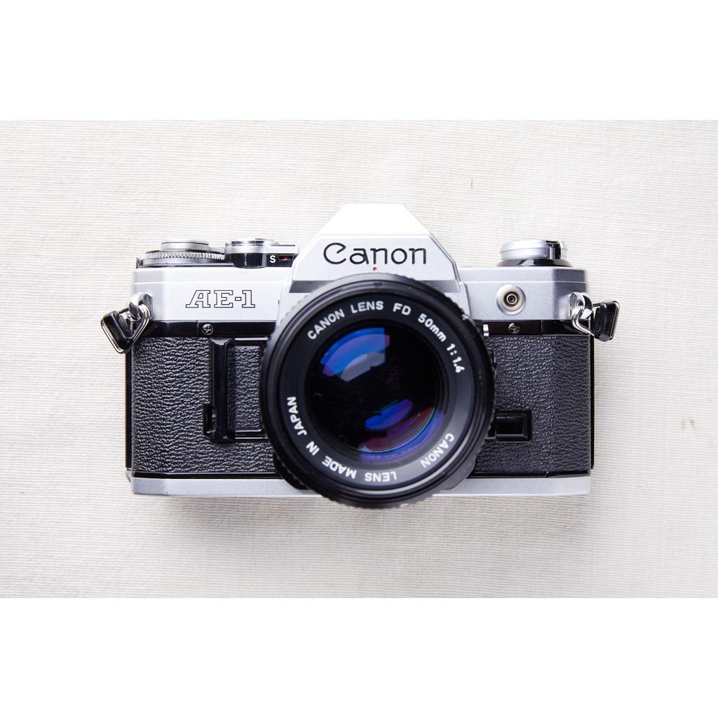 Canon AE-1 銀 #553+NEW FD 50mm F1.4