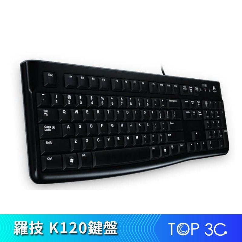 【logitech羅技】 K120 USB有線鍵盤【ZG00005】
