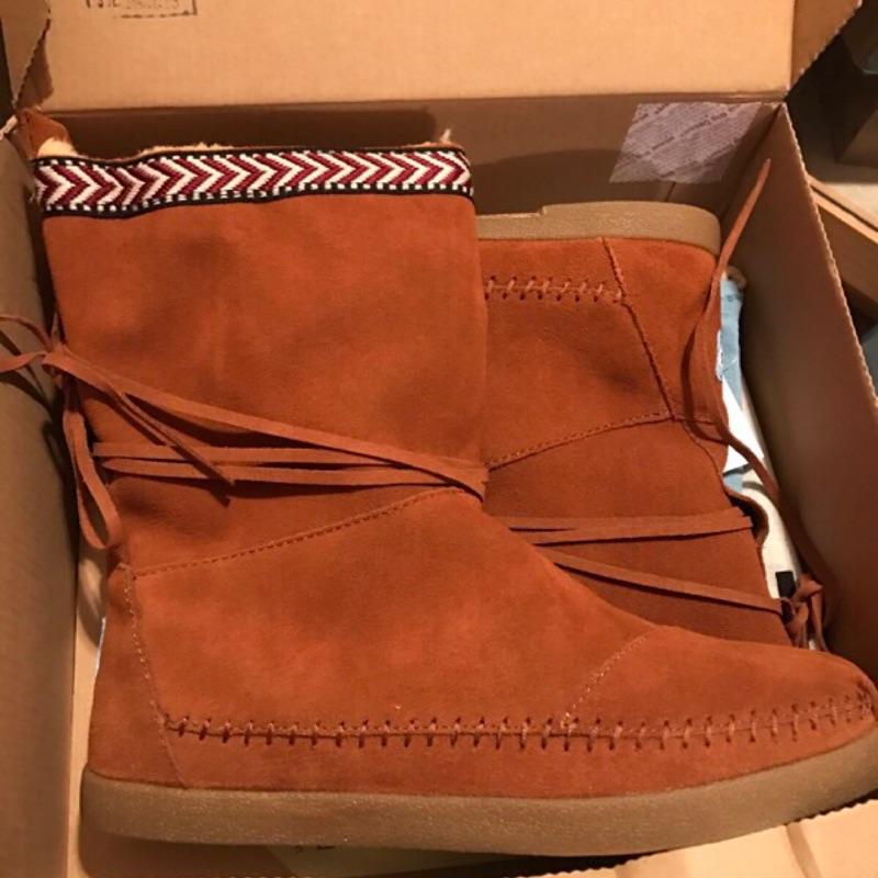 (免運!)Toms 全新雪靴特價