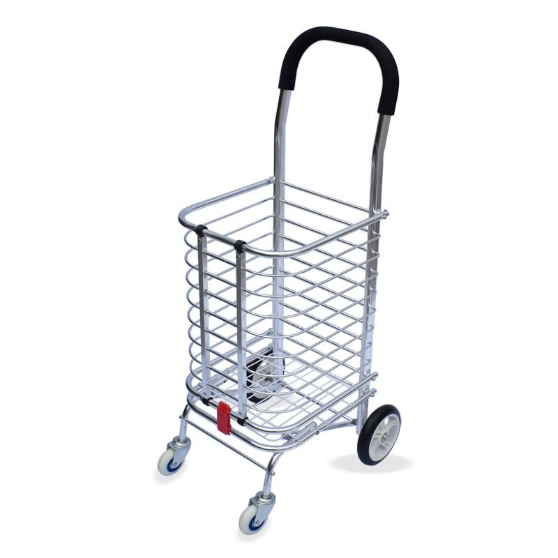廣源家用購物車爬樓買菜車購物車便攜拉桿手拉車可折疊小推車拖車
