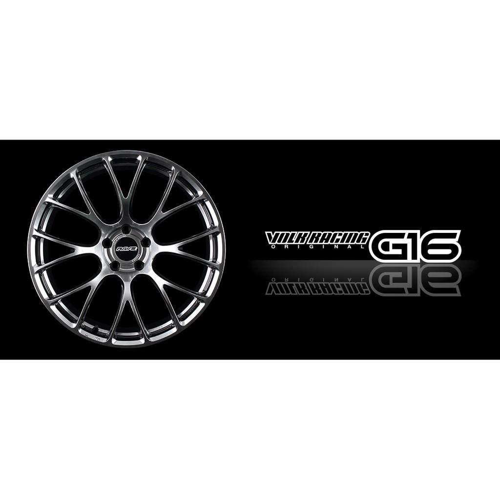 特斯拉 Tesla Model S 專用日本 RAYS VOLK RACING G16