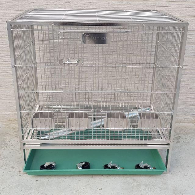 2尺×1.5尺不鏽鋼鳥籠鸚鵡籠【304】台灣製造【全配】