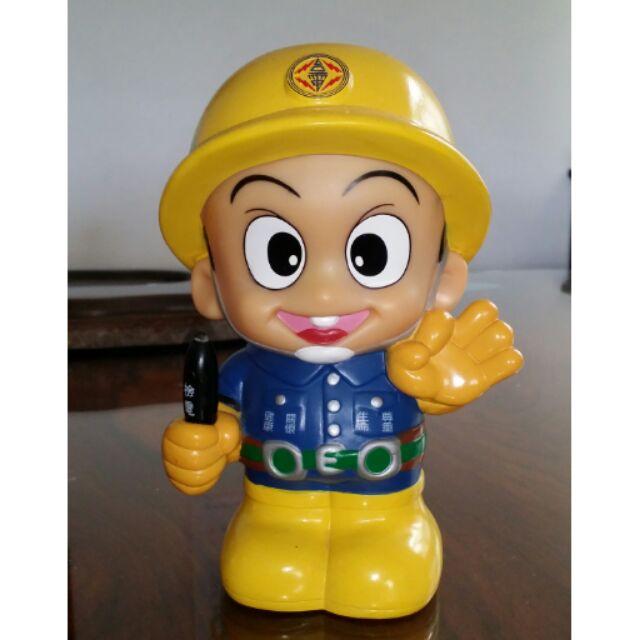 【薇樂園】網路競標熱烈 台電寶寶/大同寶寶 超Q公仔存錢筒 早期 大同寶寶 企業寶寶 塑膠 軟膠 存錢筒 商品如圖