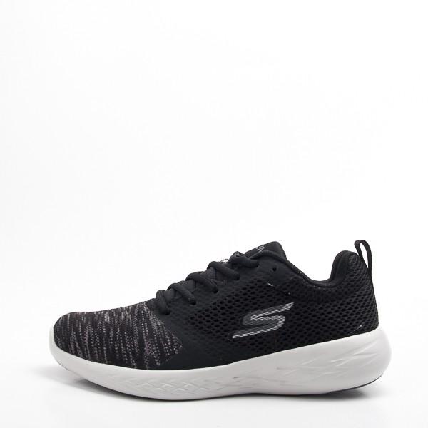 Skechers  (女) 跑步系列GO RUN 600  慢跑鞋-黑 15081BKGY  現貨  零碼出清