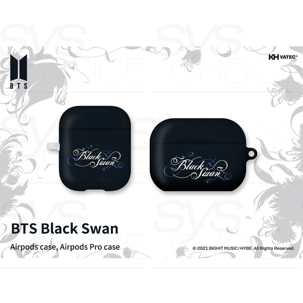 BTS 官方正品 Black Swan Airpods 或 Airpods Pro 保護套