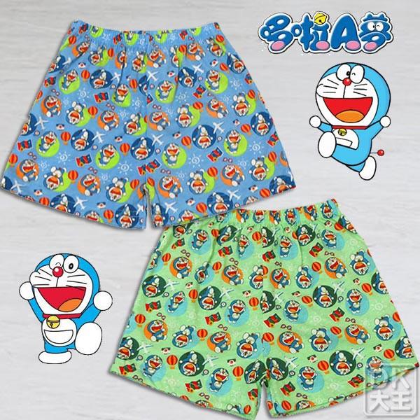 哆啦A夢(小叮噹) 8312 兒童平口褲 內褲 (2件)【DK大王】