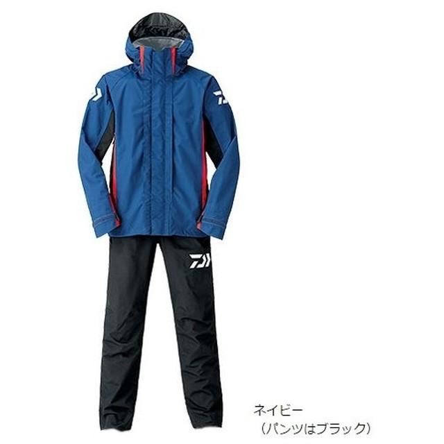 特價 [ DAIWA 釣魚套裝 ] DR-3106 雨衣套裝 海軍藍色  [魚彩釣具]