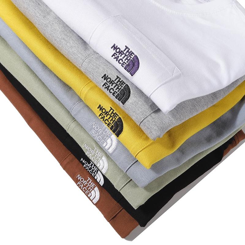 正品現貨發 THE NORTH FACE 北面紫標 口袋Tee 短袖T恤 素T 北臉 純色T恤 Tee