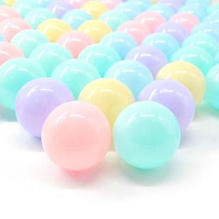 加厚款0-1歲海洋球 嬰兒玩具 耐壓波波球 嬉戲玩具球 高質量CE材質 冷暖色調任選