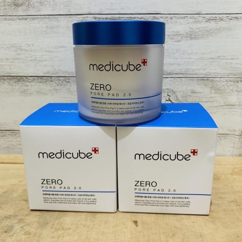 微笑馬卡龍好貨專賣韓國  MEDICUBE ZERO 毛孔爽膚棉 2.0 -70片入