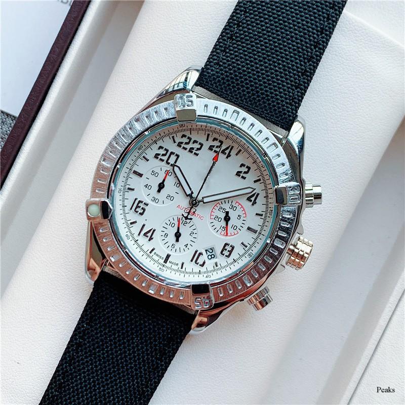 代購 專櫃品質 手錶 Breitling百年靈手錶同款 石英錶 機械錶 瑞士錶 男生手錶 女生手錶 編織物錶帶 流行手錶