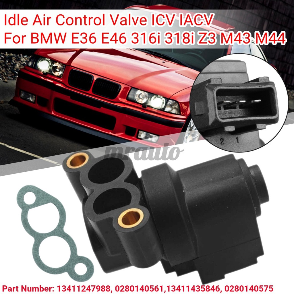 【台灣現貨】#13411435846怠速空氣閥ICV IACV對於BMW E36 E46 316 1 318I