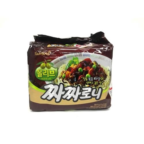 [韓國直送][三養] 炒炸醬麵(140g*5) 700g
