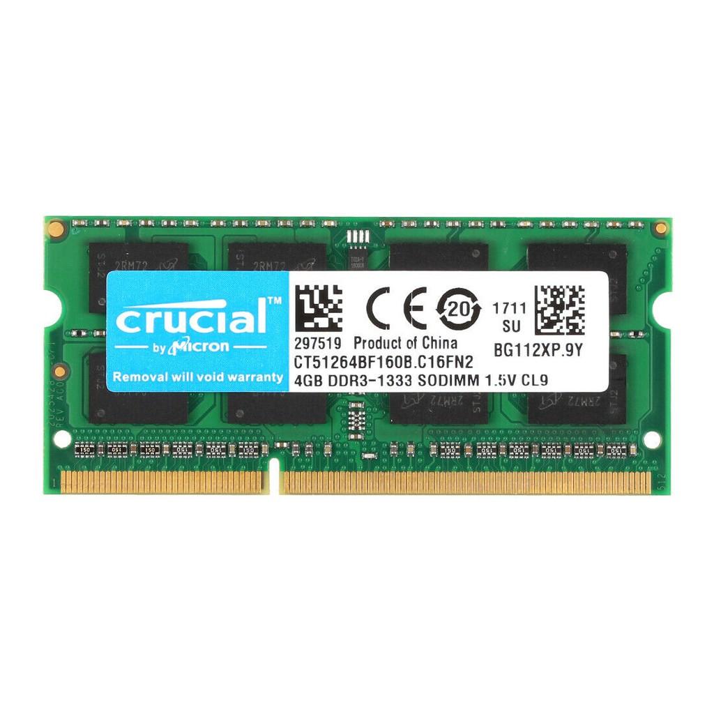 英睿達 筆電記憶體 4GB 8GB DDR3 1333 DDR3L 1600MHz 2Rx8 終身保固