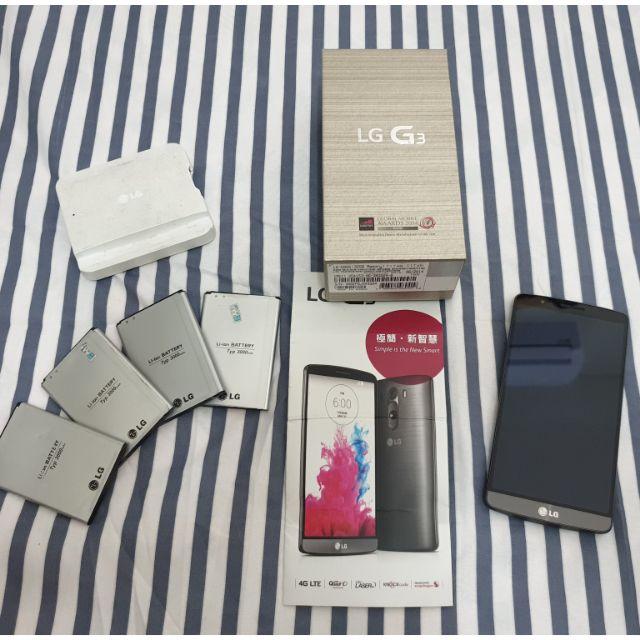 二手 LG G3 死機 零件機 外觀九成新
