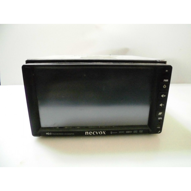 necvox 汽車7吋伸縮螢幕/DVD螢幕主機~型號HQ-3 <零件機>