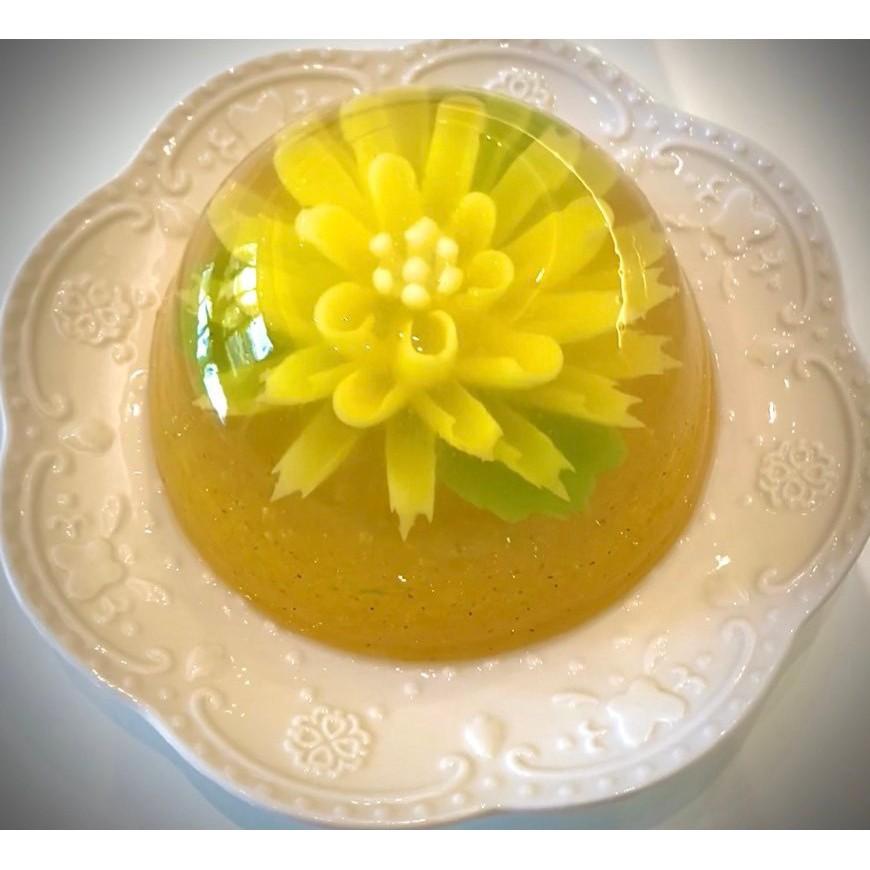 水晶翠菊果凍花(一組2個) | 甜點、禮物(蛋奶素可食用)